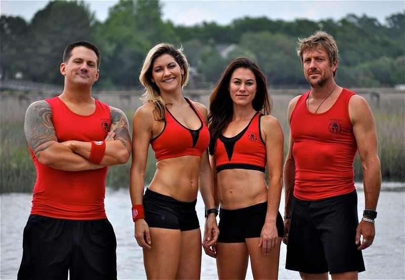 Stephen Paul Siraco, Stephanie Keenan, Elea Faucheron and Adam Von Ins have made a serious hobby out of obstacle course racing. This Charleston-based team will compete on the first episode of NBC's Spartan Ultimate Team Challenge