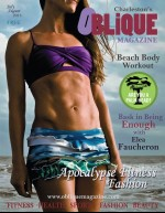 Oblique Magazine Features Charleston Warrior cover model Elea Faucheron competing on NBC Spartan Ultimate Team Challenge TV Show